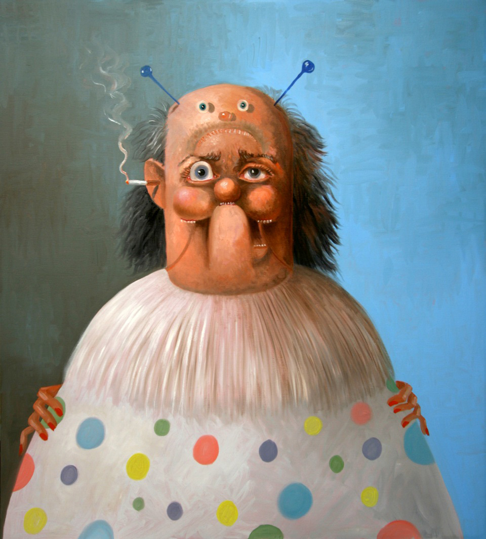 The Clown by George Condo