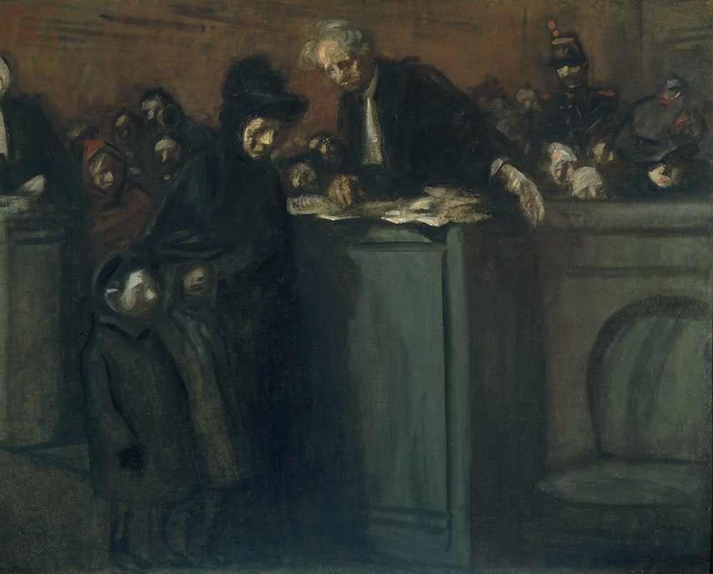 At Court (Au Tribunal) by Jean Louis Forain