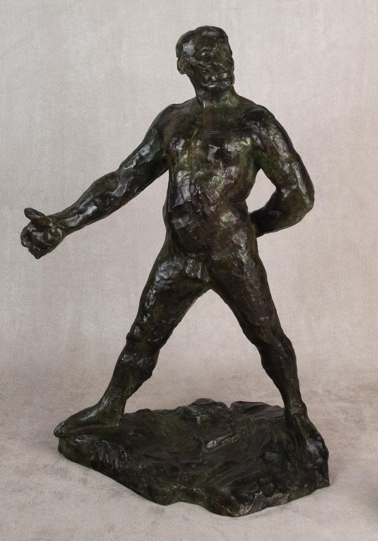 """Study for """"Balzac"""" by Auguste Rodin"""