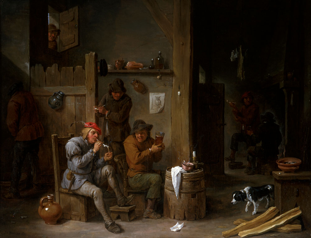 Tavern Scene by David Teniers the Younger