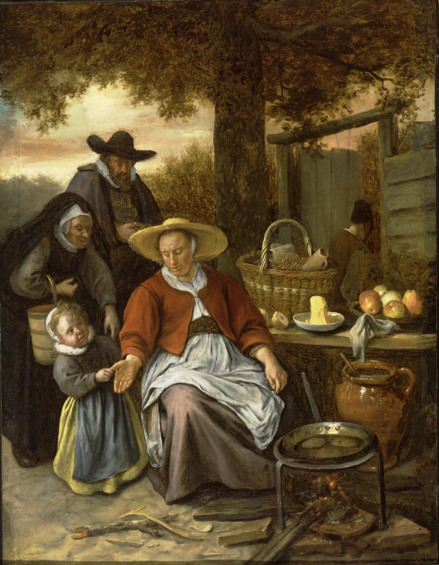 The Pancake Woman by Jan Steen