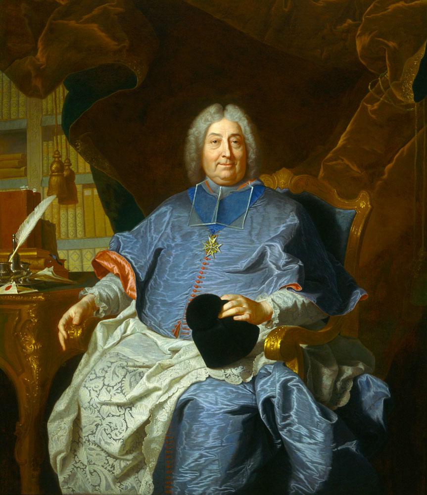 Charles Gaspard Guillaume de Vintimille du Luc, Archbishop of Paris (1656-1746) by Hyacinthe Rigaud