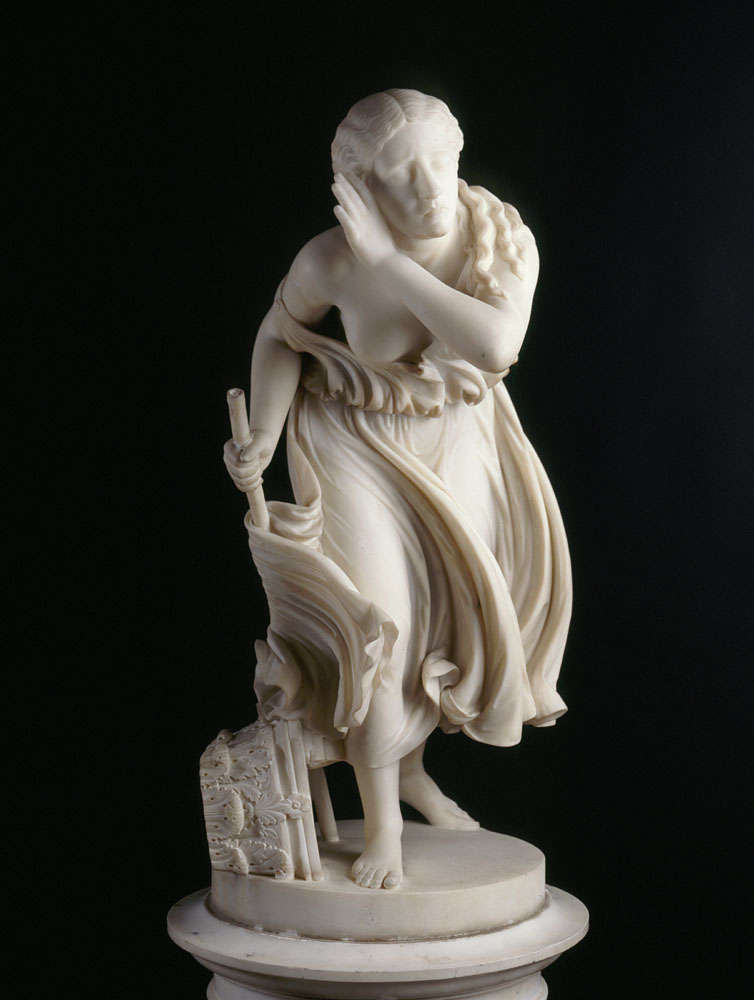 Nydia, the Blind Flower Girl of Pompeii by Randolph Rogers